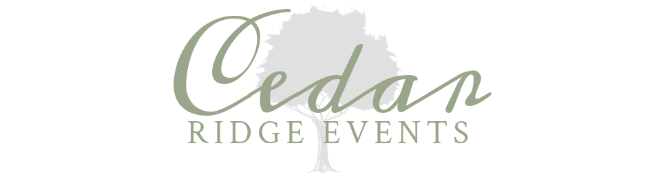 Cedar Ridge Events